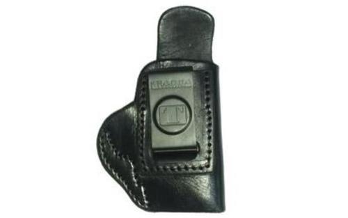 Tagua Softy S&W IWB Holster, S&W M&P Shield, RH, Black Leather