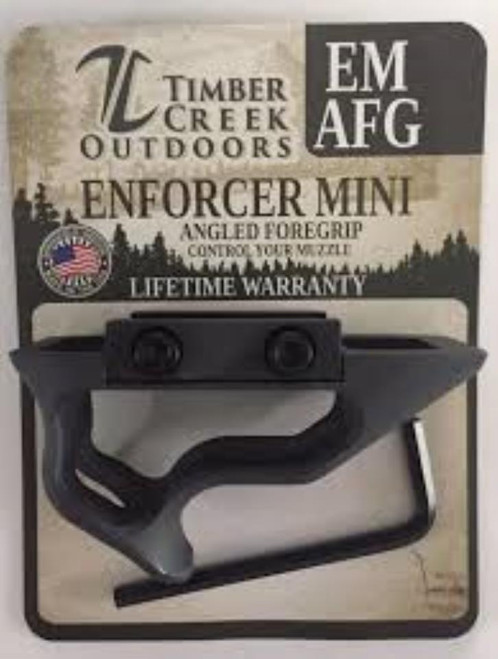 Timber Creek Enforcer Mini Angled Foregrip, Black