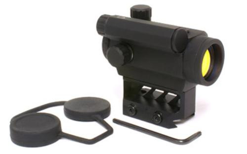 Black Spider Red Dot Sight, Black, 3 MOA Dot, Lower 1/3 Mount, Auto-dimming