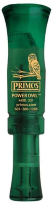Primos Power Owl Locator Wild Turkey Black Acrylic Mouth Call