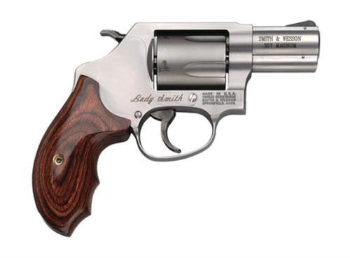 "Smith & Wesson 60 Ladysmith 357 Mag 2"" Barrel 5rd Wood Grip Matte Stainless Finish"