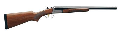 Stoeger Coach Gun Sxs, Aa-Grade Gloss Walnut, Blue 20 Ga, 20