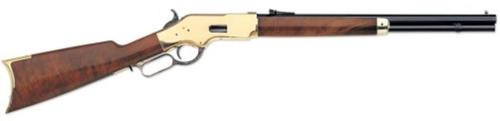 "Uberti 1866 Yellowboy Short Rifle, .44-40 Win, 20"", Brass"