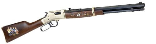 "Henry Big Boy Cowboy Edition II .45 Colt 20"" Octagon Barrel Walnut Stock Hand Painted"
