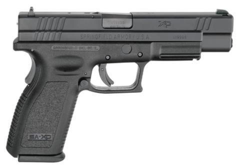 "Springfield XD Tactical 9mm 5"" Barrel USA Action Trigger System Black 10rd Mag CA Compliant"