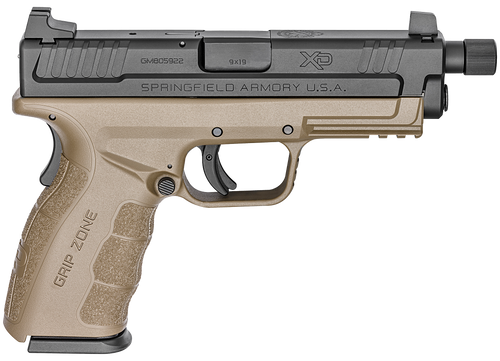 "Springfield XD Mod.2 9mm 4"", Flat Dark Earth, 16rd"
