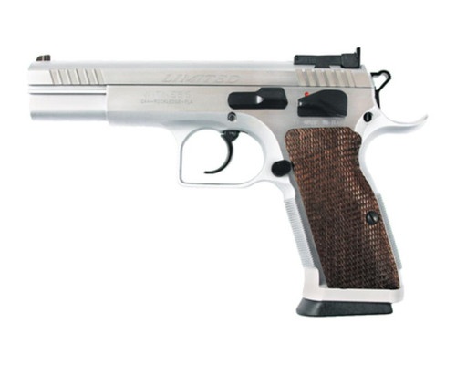 """EAA Witness Limited Pro 10mm 4.75"""" Barrel Chrome 15rd"""