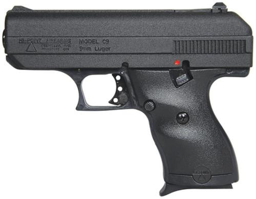 "Hi-Point Model C9 9mm 3.5""Barrel Black Comes With Hard Case 8rd Mag"