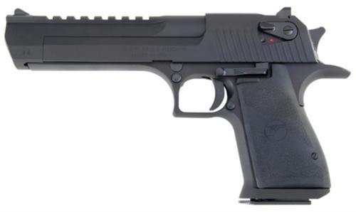 """Magnum Research Desert Eagle Mark XIX 44 RemMag 6"""" Barrel, Black Synthetic Grip Black, 8rd"""