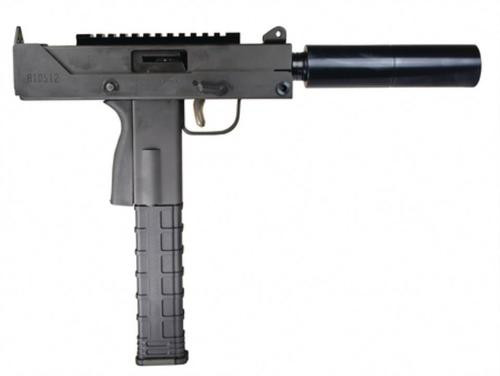 """MasterPiece Arms MPA 9MM Side Cocking Pistol with Scope Mount and 6"""" Threaded Barrel"""