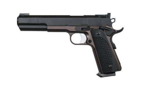 "Dan Wesson Bruin 10mm, 6"" Barrel, Bronze/Black,, rd,  8 rd"