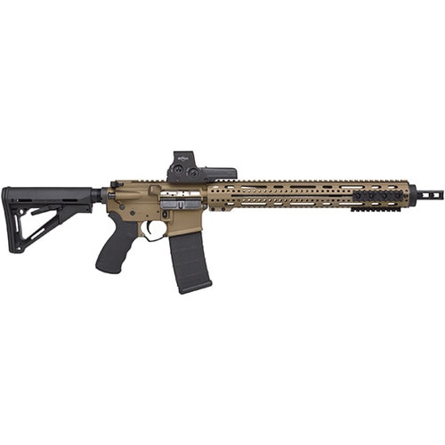 "Alex ProAR-15 Package5.56/ 223WYLDE 16"" SS BARREL, 512 EOTECH BURNT BRONZE"