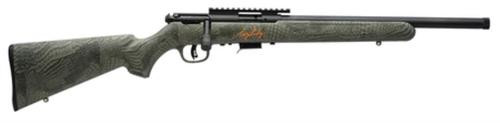 "Savage 93FV-SR .22 WMR 16.5"" Threaded Barrel Troy Landry Edition/Alligator Stock AccuTrigger 5rd"