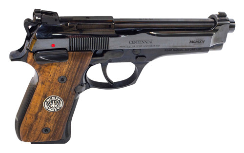 Beretta 92FS 9mm Centennial Limited Edition Package 15 Rd Mag