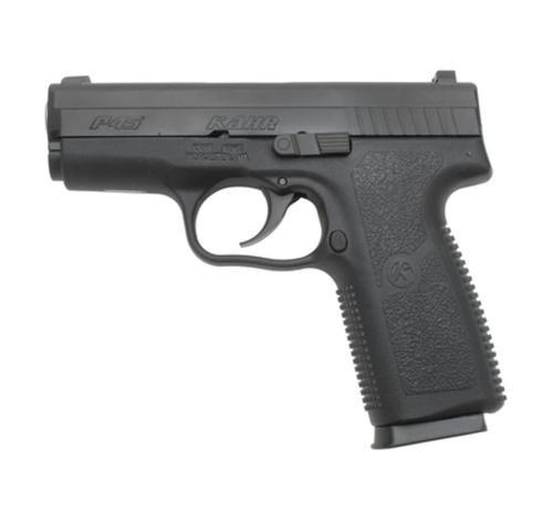 "Kahr Arms Model KP45 45 ACP 3.64"" Barrel Black Polymer Frame Blackened Stainless Slide Tritium Night Sights 6 Round Mag"