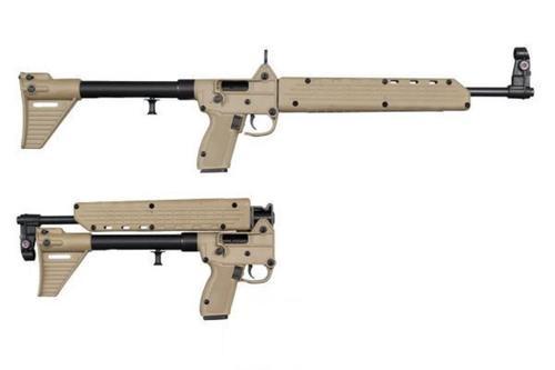 Kel-Tec Sub 2000, Glock 23 Grip, .40 S&W, 10rd, Desert Tan