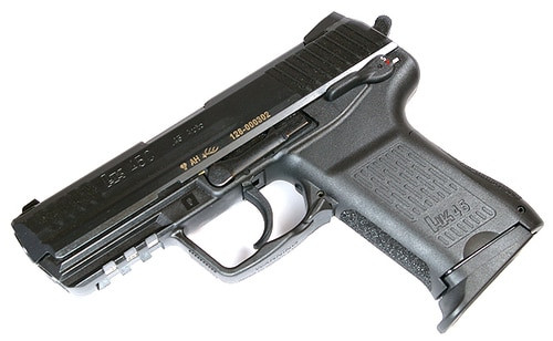 HK HK45 Compact (V1) DA/SA, safety/decocking lever on left, two 8rd magazines