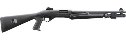"Benelli SuperNova LEO Tactical Pump Shotgun, 12 Ga 18"" Barrel Ghost Ring Sights"