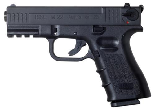 "ISSC Austrian M22 (Glock Type) Pistol 22LR, 4"", 1x10rd Mag, Black"