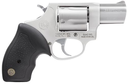 "Taurus 85 Ultra-Lite .38 Special, 2"" Barrel, Fixed Sights, Rubber Grip, Stainless Steel, 5rd"