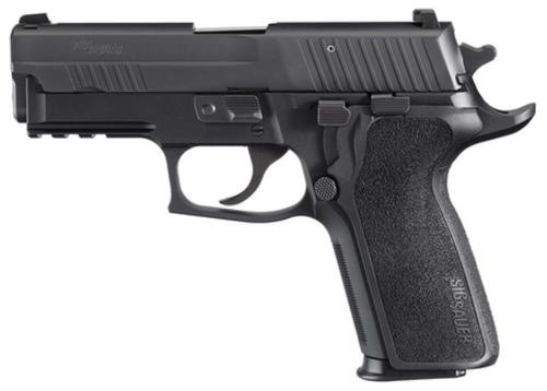 Sig P229 40 S&W 3.9In Enhanced Elite Black Da/Sa Siglite E2 Grip (2) 10Rd Steel MAG CA Compliant SRT