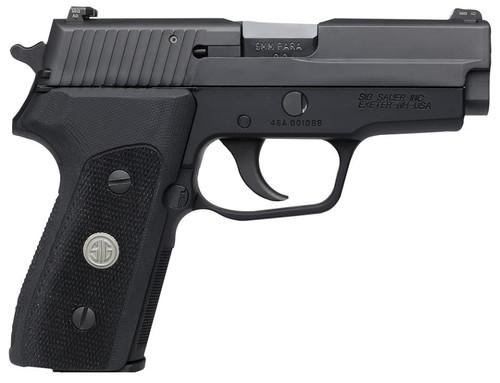 """SIG P225 A1 9mm, 3.6"""", Nitron, SA/DA, CS Black, G10 Grip Black, 2x8rd Mags"""
