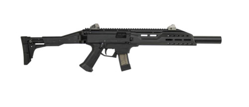 "CZ Scorpion Evo 3 S1 Carbine, 9mm, Faux Suppressor, 16"" Barrel, 20rd Magazines"