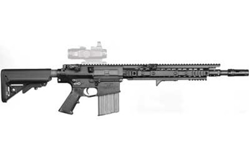 """Knights SR-25 Enhanced Combat Carbine with 16"""" Dimpled Barrel"""