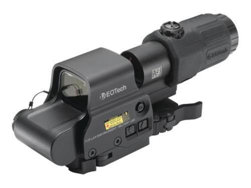 EOTech HHS II, EXPS-2 Holographic Weapon Sight & G33 Magnifier, Switch-To-Side Mount Black