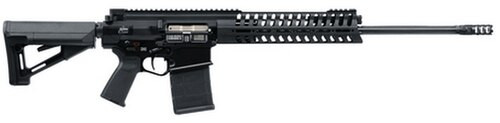 "POF USA P308 Gen 4 Rifle 7.62X51 20"" Fluted Barrel E2 Dual Extraction CTR Retractable Buttstock Black 20 Rd Mag"