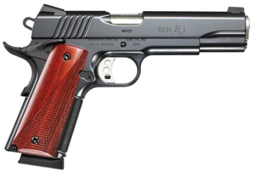 "Remington 1911 R1 Carry 45 ACP, 5"" Barrel, Cocobolo Grips, 8rd Mag"