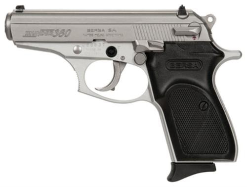 "Bersa Thunder Lite .380 ACP 3.5"" Barrel Nickel Finish 8rd"