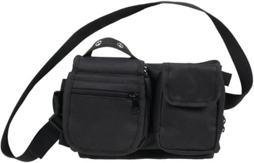 Bulldog Cases Deluxe Satchell Go-Bag Black