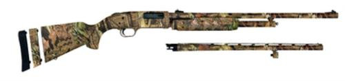 Mossberg Model 500 Super Bantam Field/Deer Combo 20 Gauge With 22 Inch Vent Rib Barrel And 24 Inch Ported Fully Rifled Barrel Synthetic Stock Full Mossy Oak Break-Up Infinity Camouflage Finish 5 Round