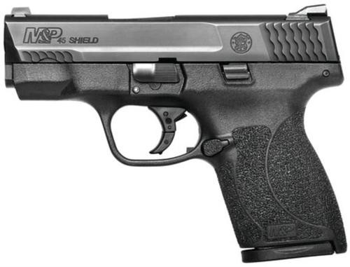 "Smith & Wesson M&P Shield 45 ACP, 3.3"" Barrel, No Thumb Safety, 7rd"