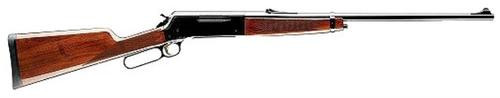 "Browning BLR Lightweight 81 300 WinMag 24"" Barrel Walnut Stock Blued"