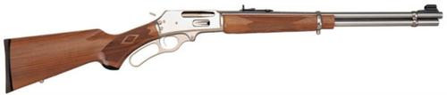 "Marlin Model 336 Lever 30-30 Win, 20"" Barrel, Stainless Steel, Walnut Stock"