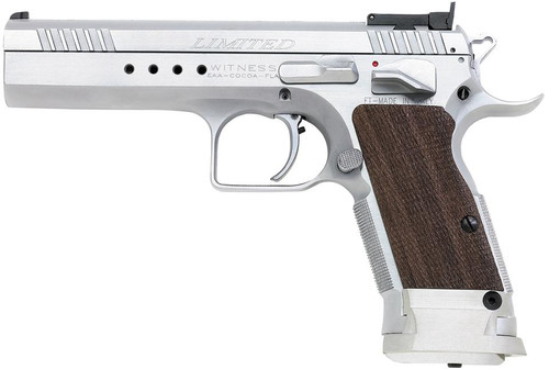 EAA Witness Elite Limited, 40 SW, SS Finish, 15 Round Mag