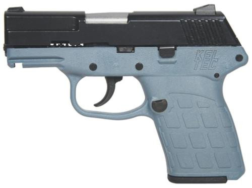KelTec PF-9 9mm Blue Slide Grey Grip