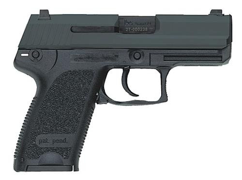 HK USP9 Compact (V7) LEM DAO, two 13rd magazines