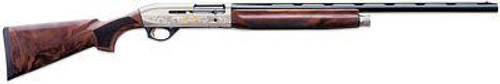 "Benelli Montefeltro Silver 12ga 28"" Barrel AA Grade Highly Figured Walnut Stock"
