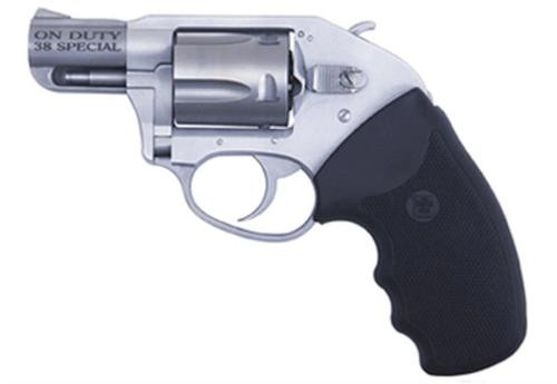 """Charter Arms On Duty Compact, .38 Special +P, 2"""" Barrel, 5rd, Matte Black/Stainless"""