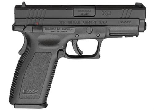 "Springfield XD45 ACP, 5"" Barrel, Extended Thumb Safety Black"