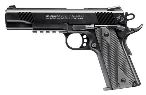 Walther Colt 1911 .22 L.R. Rail Gun Black 10 Round, 1 Mag