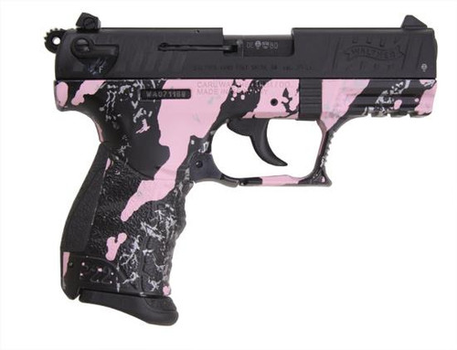 Walther P22 Pink Tiger Stripe