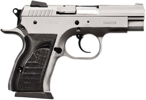 "EAA Witness Compact Steel 45 ACP 3.6"" Barrel, Rubber Grip Wonder Finish, 8rd"