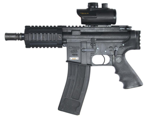 """Chiappa M4-22 Pistol .22LR 6"""" Barrel Two Magazines 10 Rounds W/Red Dot Scope"""