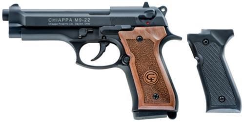 Chiappa M9-22 Pistol, Standard Model Beretta 92 Copy, 22LR, 10 Rd Mag