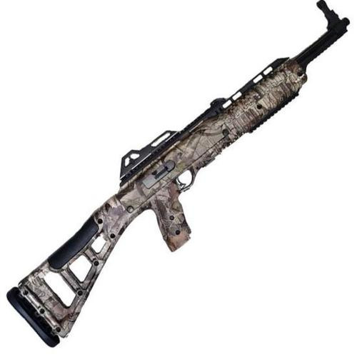 "Hi-Point Model 995 9mm Carbine 16.5"" Barrel Black Woodland Camo Skeletonized Target Stock 10rd"