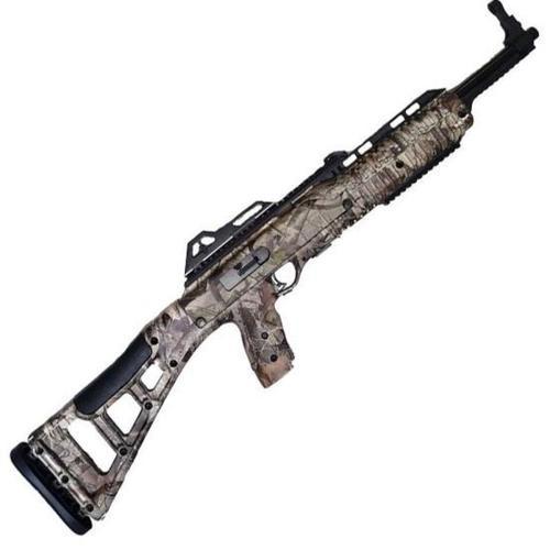 """Hi-Point Model 995 9mm Carbine 16.5"""" Barrel Black Woodland Camo Skeletonized Target Stock 10rd"""